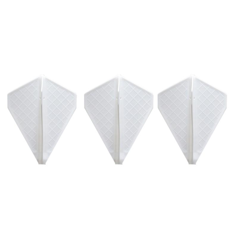 Fit Flight 【フィットフライト】 フィットフライト プロ V-4 ホワイト (Fit Flight Pro V-4 White) | 成型フライト