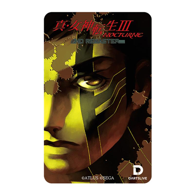 DARTSLIVE CARD 【ダーツライブカード】 真・女神転生III NOCTURNE HD REMASTER TypeA | ダーツライブテーマ付き