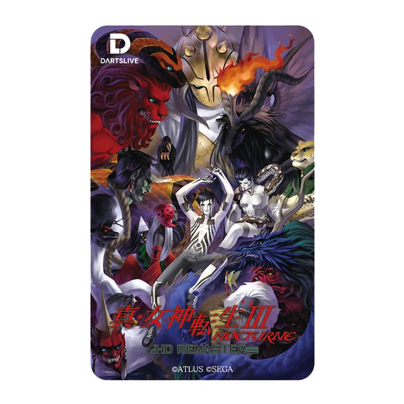 DARTSLIVE CARD 【ダーツライブカード】 真・女神転生III NOCTURNE HD REMASTER TypeC   ダーツライブテーマ付き
