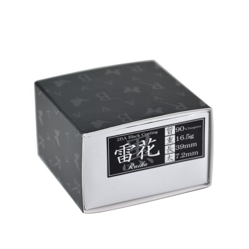 BASARA 【バサラ】 雷花 タングステン90% (Raika Black Coating)   ダーツ 2BAバレル 16.5g
