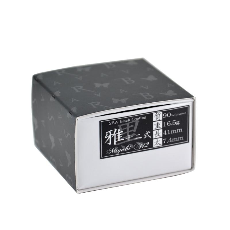 BASARA 【バサラ】 雅十二式 タングステン90% (Miyabi F12 Black Coating) | ダーツ 2BAバレル 16.5g