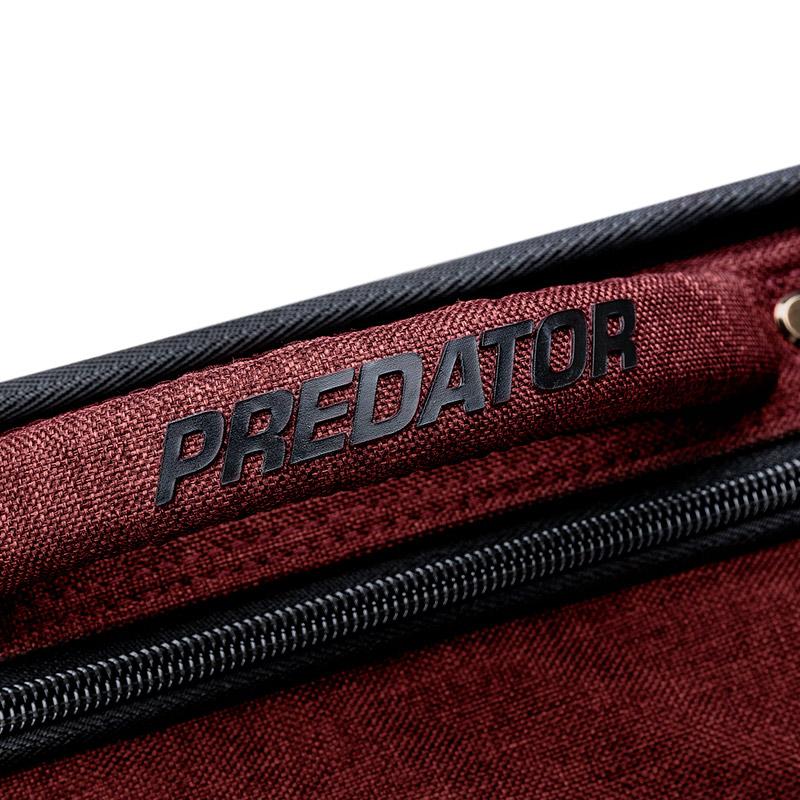 Predator 【プレデター】 キューケース 2バット4シャフト Urbain レッド ソフトケース (Cue Case 2B4S Red S) | ビリヤード キューケース