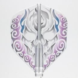 Fit Flight AIR×CROSS DESIGN 鬼火(紫 Aシェイプ [フィットフライト エアー クロスデザイン オニビ ムラサキ]