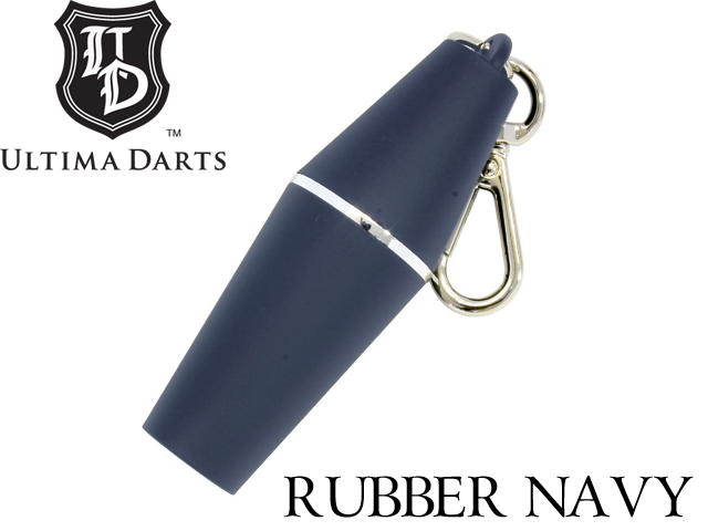 ULTIMA DARTS Colorful TIP CASE/RUBBER NAVY