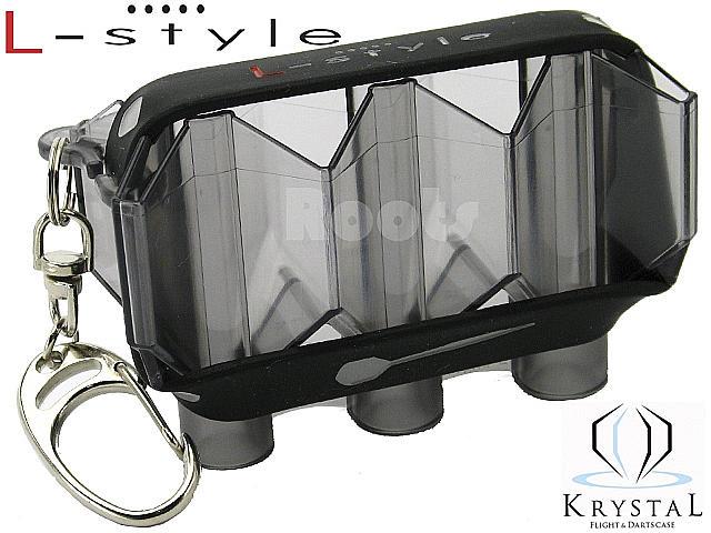 L-style KRYSTAL/クリアブラック/フライトケース