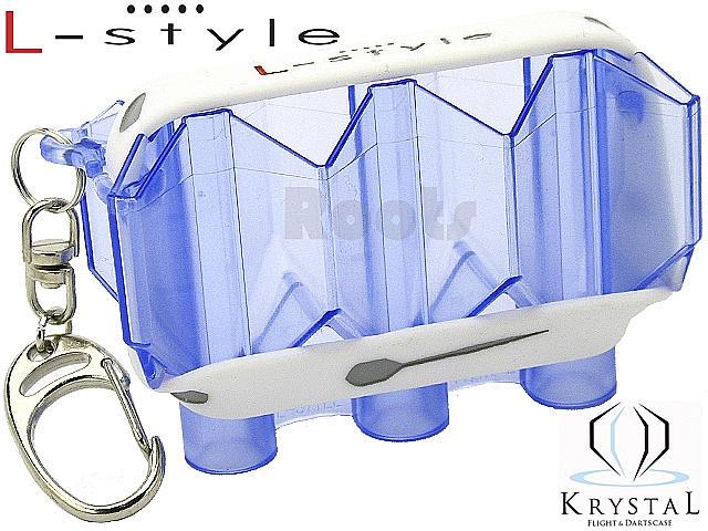 L-style KRYSTAL/クリアブルー/フライトケース