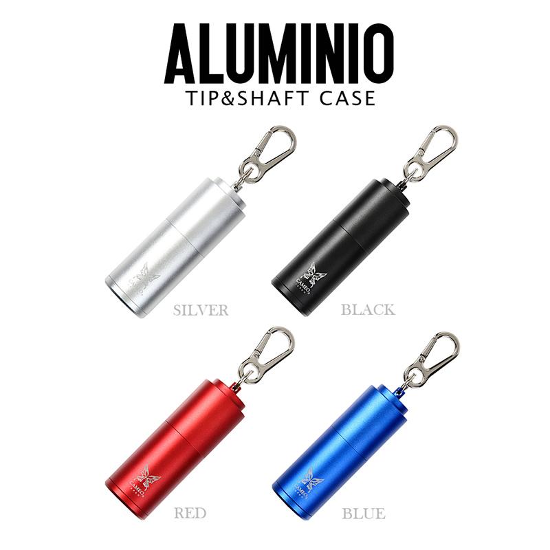 CAMEO 【カメオ】チップ&シャフトケース アルミニオ ブラック (TIP AND SHAFT CASE ALUMINIO BLACK) | チップ・シャフトケース