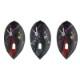 DYNASTY×Flight-L 【ダイナスティ×フライトエル】 ペロリナ ティアドロップ ブラック (PEROLINA L2 Tear Drop Black)   シャンパンリング対応フライト