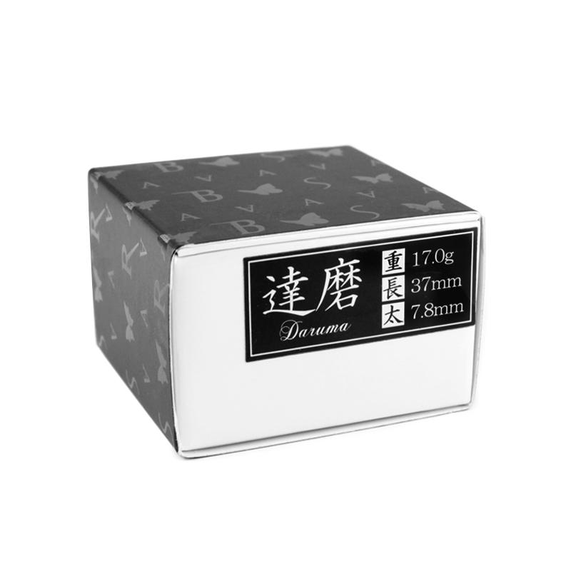 BASARA 【バサラ】 達磨 タングステン90% 黒 (Daruma Black Coating) | ダーツ 2BAバレル 17.0g
