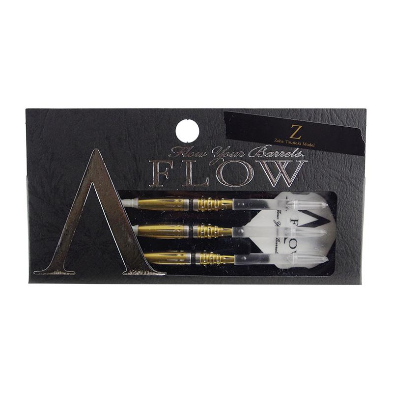 "DYNASTY 【ダイナスティー】 エーフロー ブラックライン ""Z"" 座波 常輝選手モデル (A-FLOW BLACK LINE ""Z"" ZAHA TSUNEKI MODEL Tungsten90%)   ダーツ 2BAバレル 18.5g"