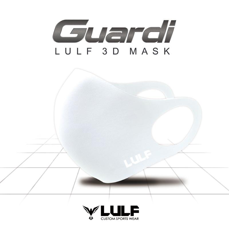LULF Guardi 3D MASK White S (3Dマスク ホワイト S)