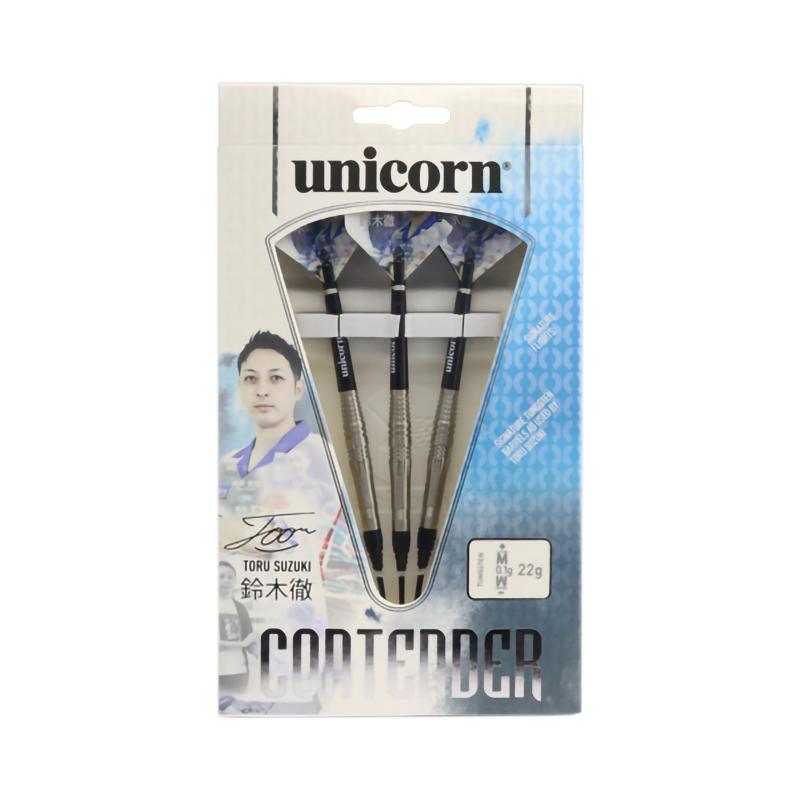 unicorn 【ユニコーン】 コンテンダー フェーズ 2 鈴木徹選手モデル (CONTENDER PHASE 2 Tungsten90%) | ダーツ 2BAバレル 22.0g