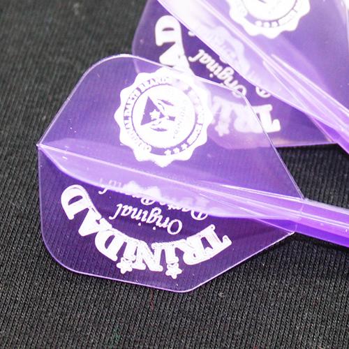 TRiNiDAD×CONDOR カレッジロゴ Clear Purple [トリニダード コンドル カレッジロゴ クリアパープル]