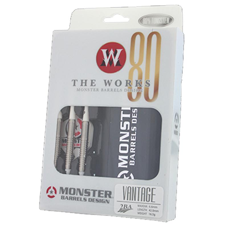 MONSTER DARTS【モンスターダーツ】 ザ ワークス80 ヴァンテージ (VANTAGE Tungsten80%) | ダーツ 2BAバレル 16.5g