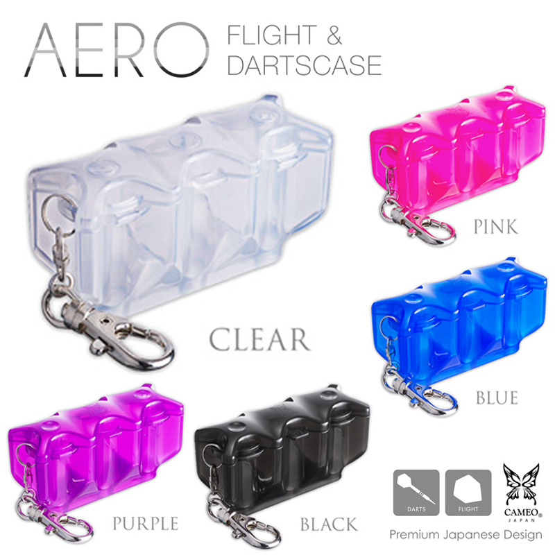 CAMEO ダーツ&フライトケース AERO (エアロ) ORANGE