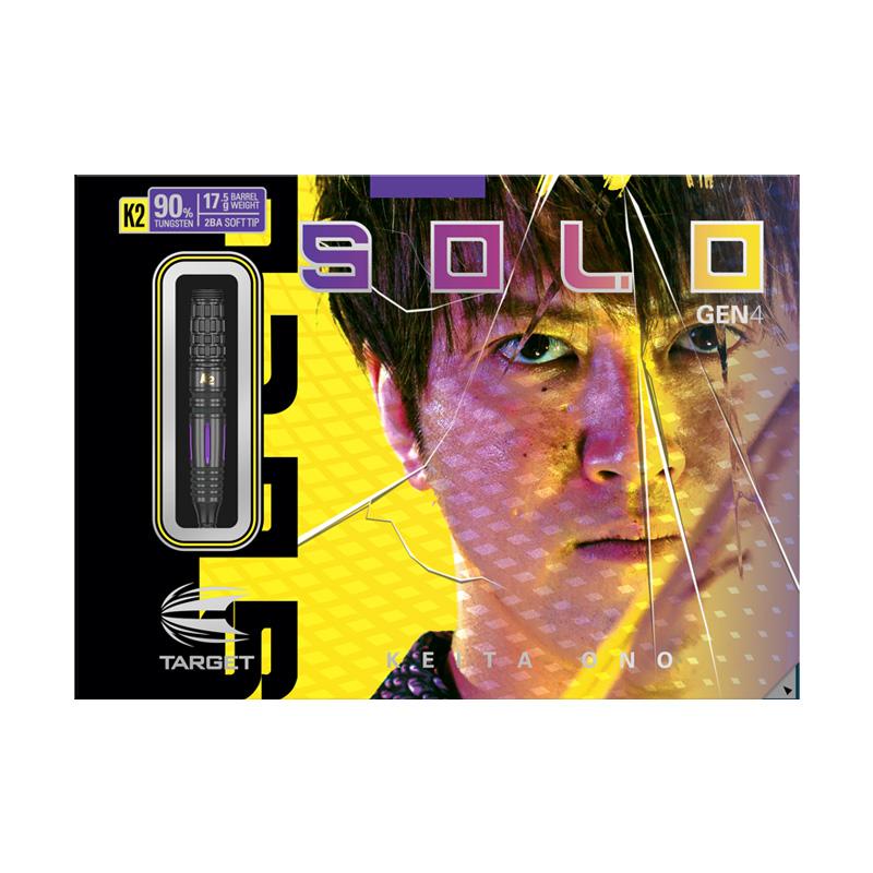 TARGET 【ターゲット】 ソロ ジェネレーション4 K2 限定モデル 小野恵太選手モデル (SOLO GENERATION4 K2 LIMITED EDITION Tungsten90%) | ダーツ 2BAバレル 17.5g