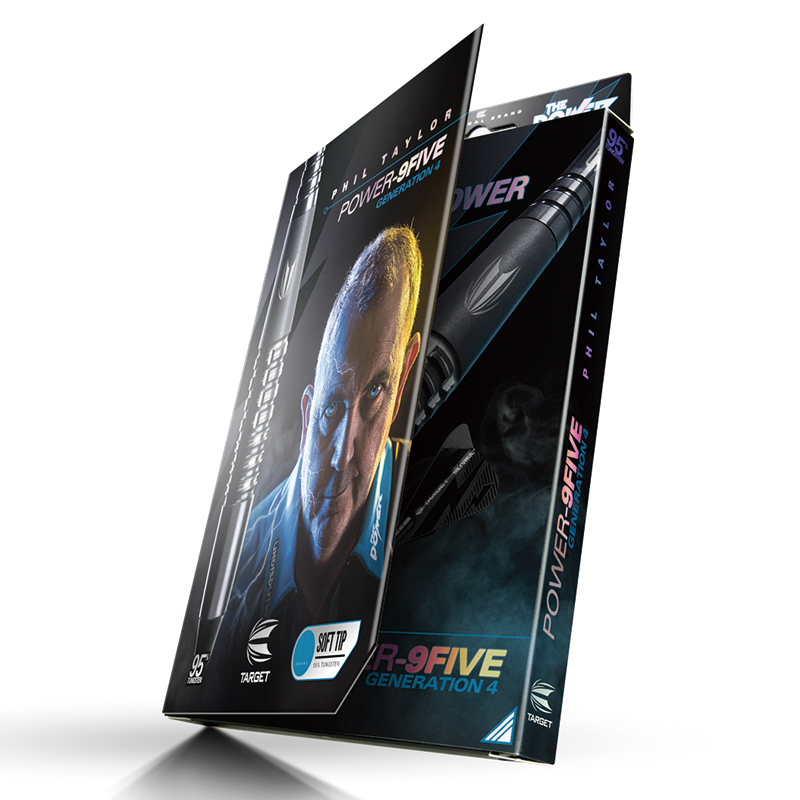TARGET POWER 9FIVE Generation-4 Phil Taylor選手モデル 2BA [ターゲット パワー ナインファイブ ジェネレーションフォー フィル・テイラー]