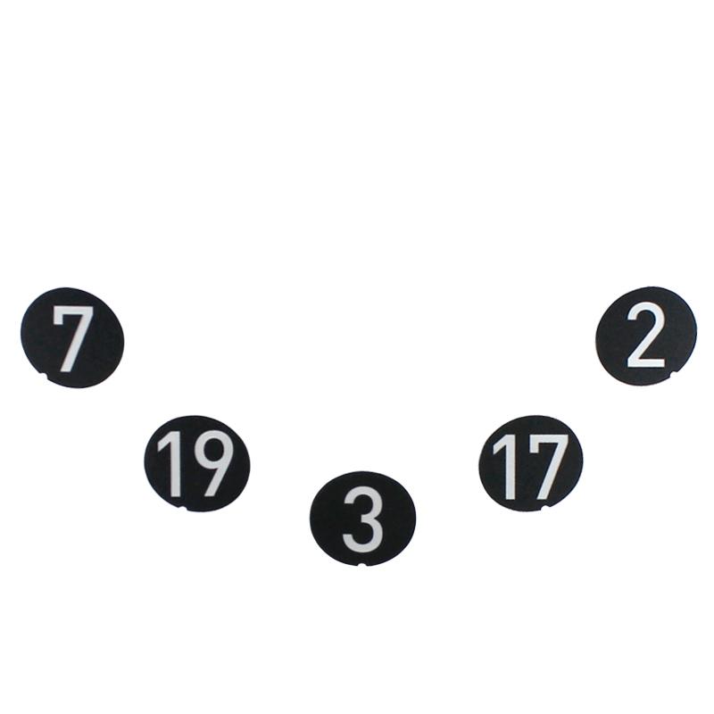 【DL3】点数シール 下側 5枚セット (7・19・3・17・2)