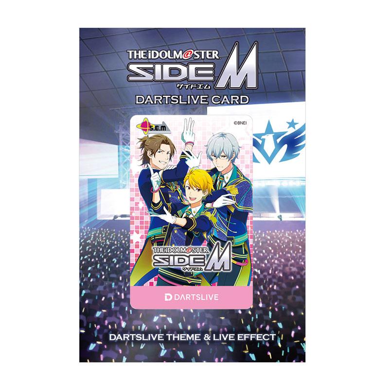 DARTS LIVE CARD 【ダーツライブカード】 ダーツライブカード アイドルマスター SideM「S.E.M」   ダーツライブテーマ付き