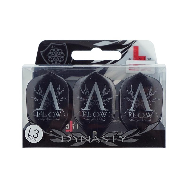 DYNASTY×L-Flight 【ダイナスティー×エルフライト】 エーフロー イージー シェイプ ブラック (A-FLOW EZ L3 Shape Black)   シャンパンリング一体型