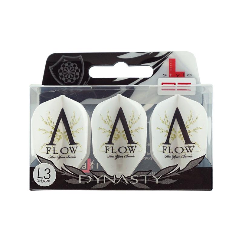 DYNASTY×L-Flight 【ダイナスティー×エルフライト】 エーフロー イージー シェイプ ホワイト (A-FLOW EZ L3 Shape White) | シャンパンリング一体型