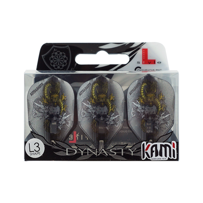 DYNASTY×L-Flight 【ダイナスティー×エルフライト】 KAMI PRO RYUKI ver.2 シェイプ ガンメタリック (Shape Gun Metallic)   シャンパンリング対応