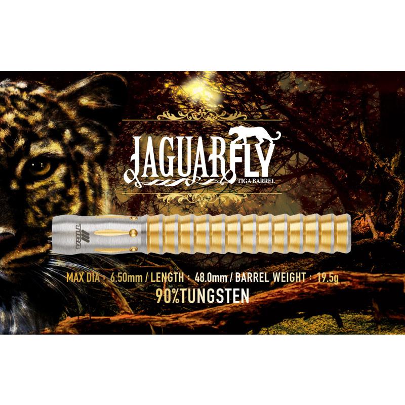 TIGA 【ティガ】 ジャガーフライ (JAGUARFLY Tungsten90%)   ダーツ 2BAバレル 19.5g