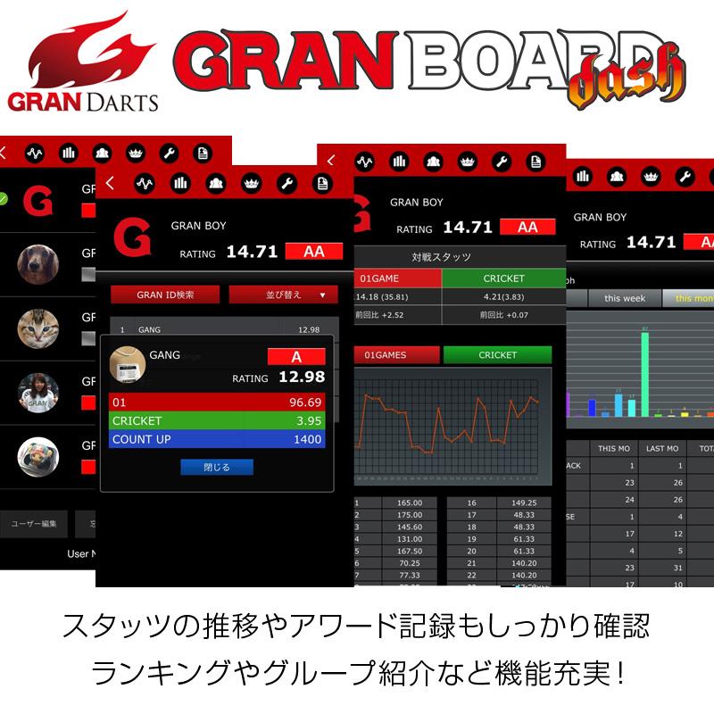 GRAN BOARD 【グランボード】 ダッシュ ブルー (Dash Blue) | オンライン対戦対応 電子ダーツボード