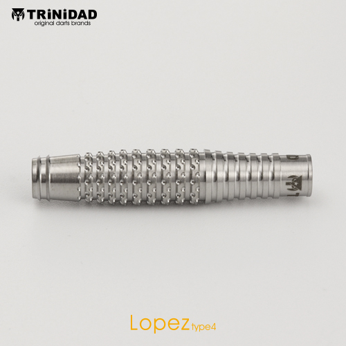 TRiNiDAD 【トリニダード】 ロペズ タイプ4 浅田斉吾選手モデル (Lopez Type4 Tungsten95%)|ダーツ 2BAバレル 20.0g