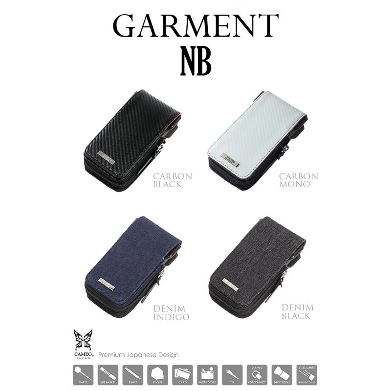 CAMEO 【カメオ】 ガーメント エヌビー カーボンブラック (GARMENT NB CARBON BLACK) | ダーツケース