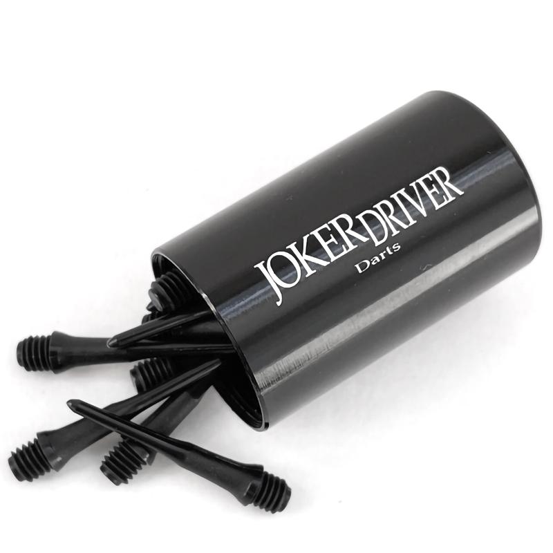 JOKER DRIVER 【ジョーカードライバー】 メタルチップケース シルバー (METAL TIP CASE SILVER) | ダーツ チップケース