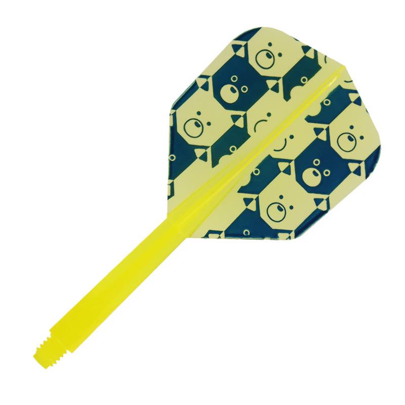 CONDOR 【コンドル】 ドッグス スモール M クリアイエロー (Dogs Small M Clear Yellow)   コンドルフライト