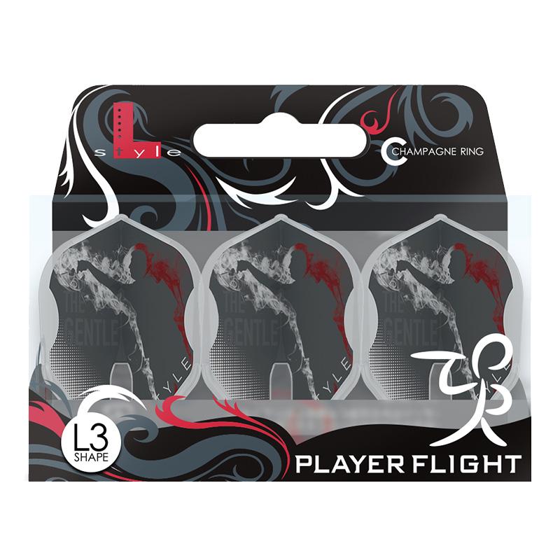 L-Flight 【エルフライト】 メンサー・スルホビック ver.1 タイプA PRO L3 クリアホワイト (ver.1 type-A PRO L3 Clear White) | シャンパンリング対応