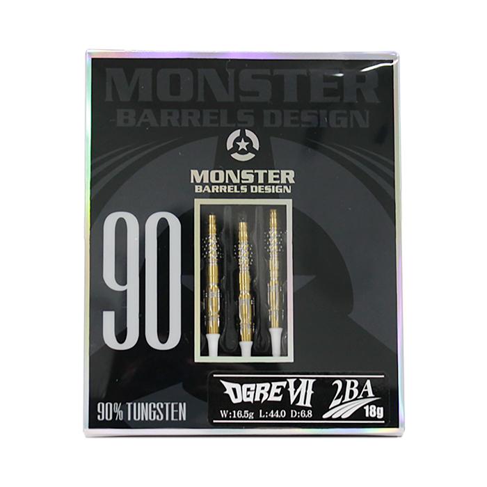 MONSTER DARTS【モンスターダーツ】オーガ7 橋本守容選手モデル (OGRE7 Tungsten90%)   ダーツ 2BAバレル 16.5g