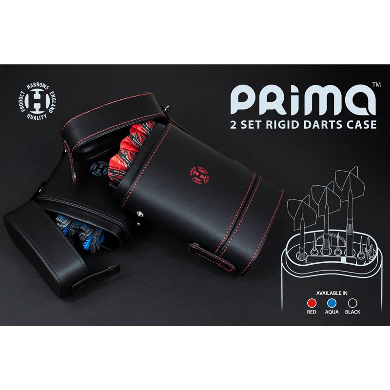 Harrows 【ハローズ】 プリマダーツケース レッド (PRIMA DART CASE RED)   ダーツケース