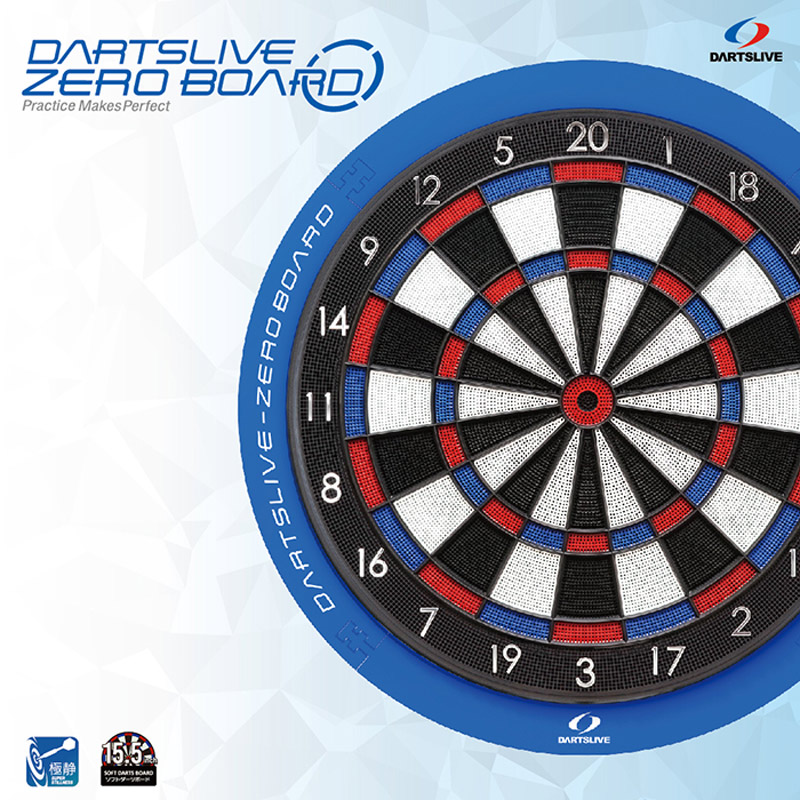 DARTSLIVE 【ダーツライブ】 ダーツボード ゼロボード (DARTSLIVE-ZERO BOARD) | ソフトダーツボード