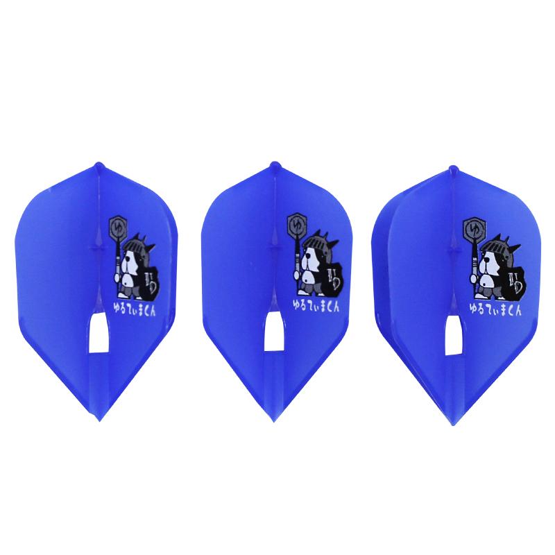ULTIMA DARTS【アルティマダーツ】 ゆるてぃまくん ver.2 ブルー L3c (Blue Shape)   シャンパンリング対応