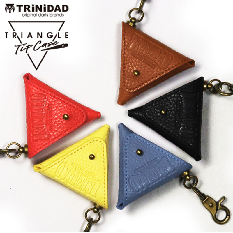 TRiNiDAD 【トリニダード】 トライアングル ブラウン (TRIANGLE BROWN) | ダーツ チップケース
