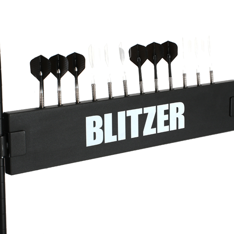 ダーツボード DARTSLIVE ZERO & ダーツスタンド BLITZER BSD21-BK & 防炎スローマット セット