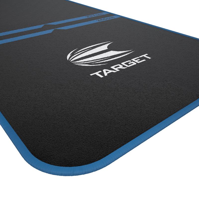 TARGET 【ターゲット】 ワールドチャンピオンダーツマット ブルー (WORLD CHAMPION DARTS MAT BLUE) | スローラインプリント