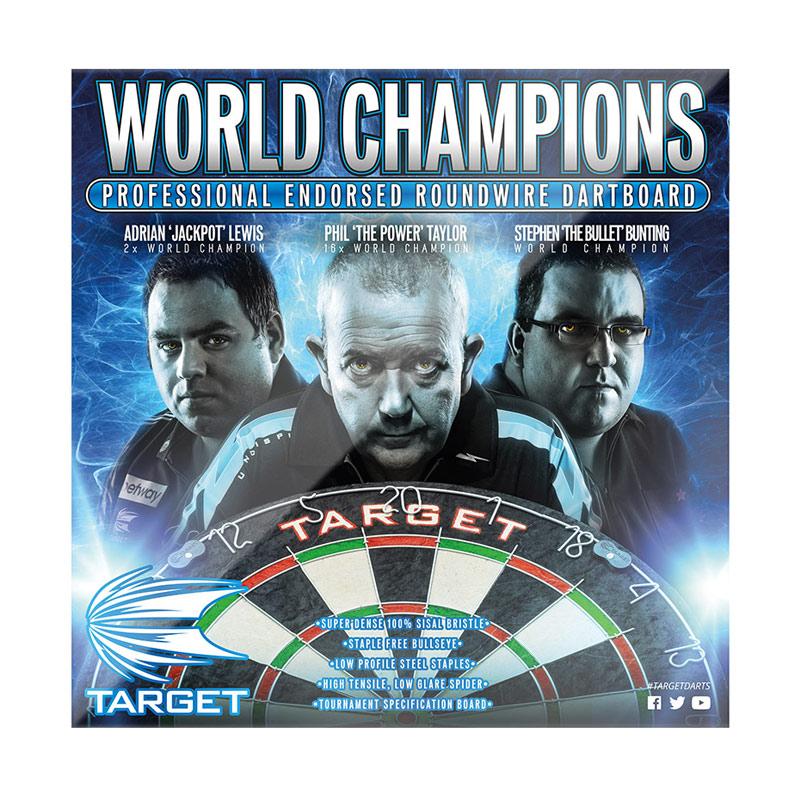 TARGET 【ターゲット】 ワールドチャンピオンダーツボード (WORLD CHAMPION DARTBOARD) | ハードボード