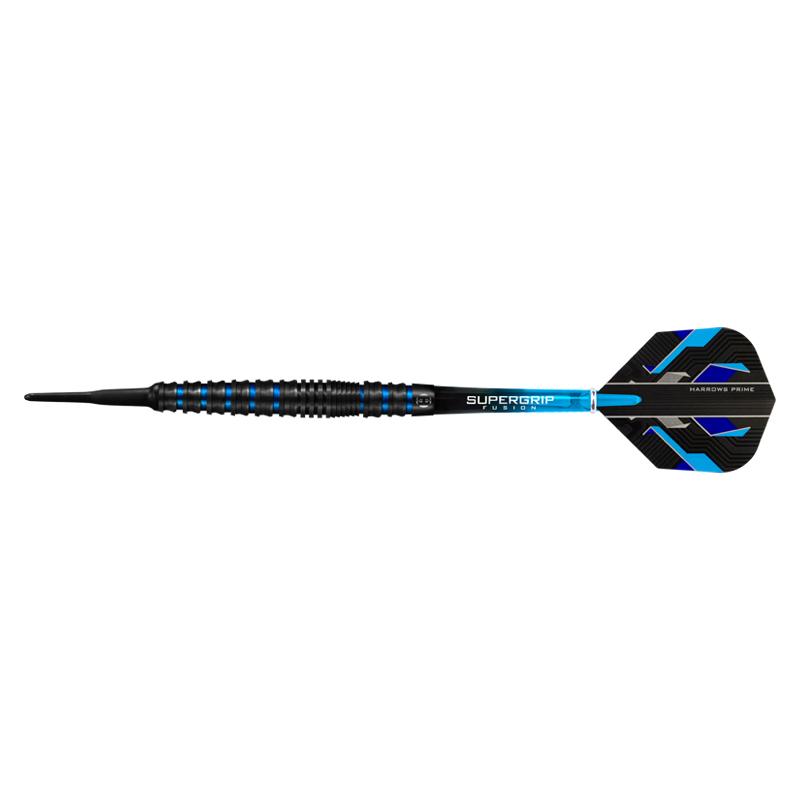 Harrows 【ハローズ】 スピーナ ブラック タングステン90% 20g (Spina Black 90% Tungsten) | ダーツ 2BAバレル 20g