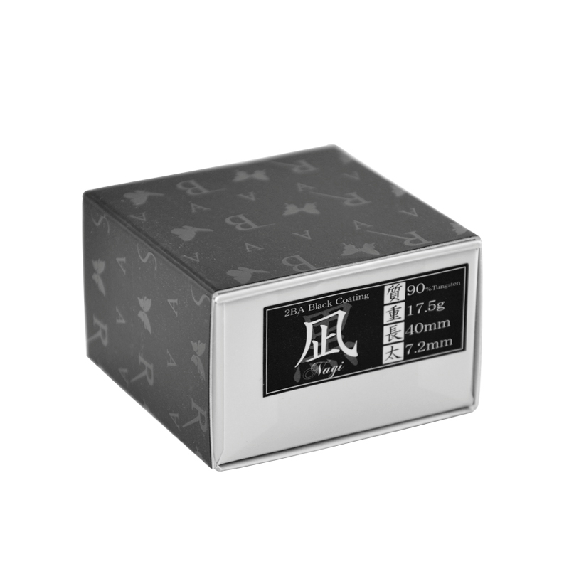 BASARA 【バサラ】 凪 タングステン90% 黒 (Nagi Black Coating) | ダーツ 2BAバレル 17.5g