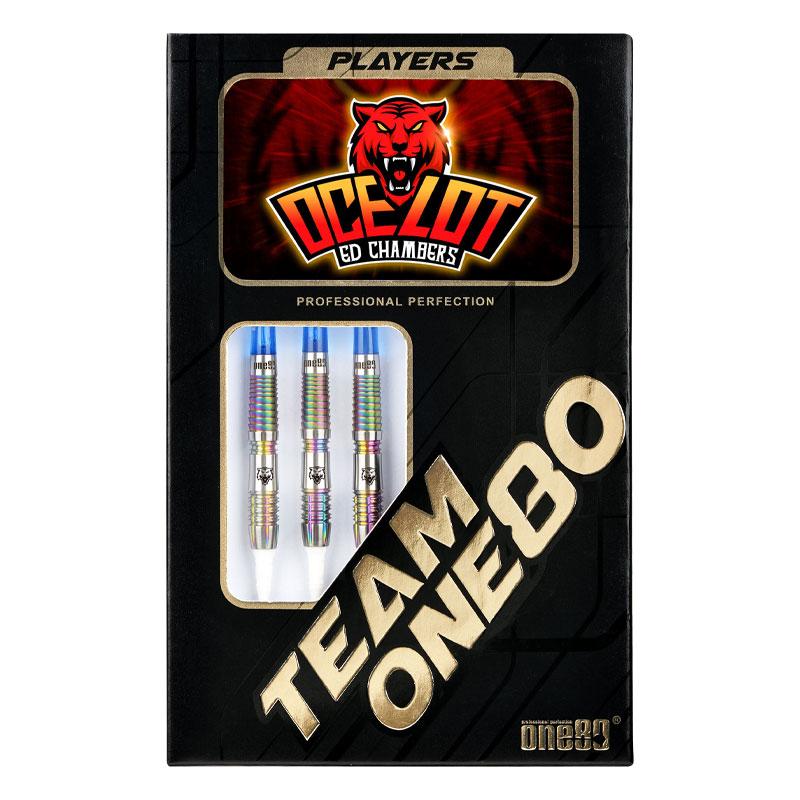 【期間限定♪チップ&シャフト プレゼント!】One80 【ワンエイティ】 ザ オセロット Ed Chamber選手モデル (The Ocelot Tungsten90%) | ダーツ 2BAバレル 18.0g