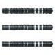【予約商品 9月22日発売】 DYNASTY 【ダイナスティー】 エディー1.1 ブラック エドワード・昌司・ファウルクス選手モデル (A-FLOW BLACK LINE EDDIE1.1 BLACK Tungsten95%) | ダーツ 2BAバレル 18.0g