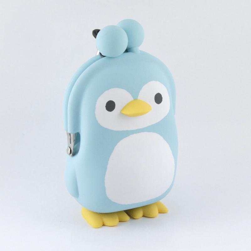 3D POCHI Friends PENGUIN (アイスブルー)