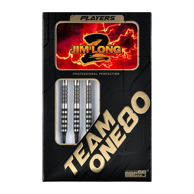 【予約商品 9月22日発売】 One80 【ワンエイティ】 ジム・ロング2 Jim Long選手モデル (JIM LONG2 Tungsten90%) | ダーツ 2BAバレル 18.0g
