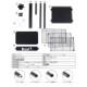 ダーツボード DARTSLIVE 200S & ダーツスタンド BSD21-NA &防炎スローマットセット