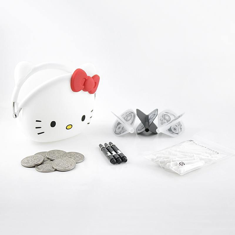 mini POCHI ハローキティ (ホワイト)