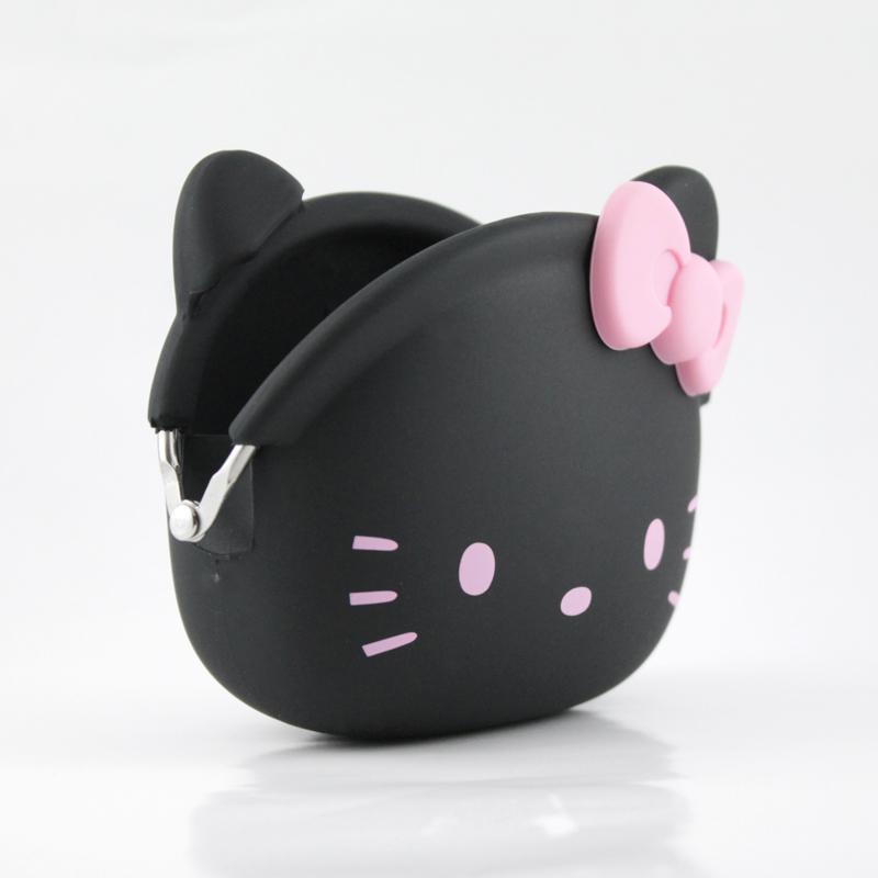 mini POCHI ハローキティ (ブラック)